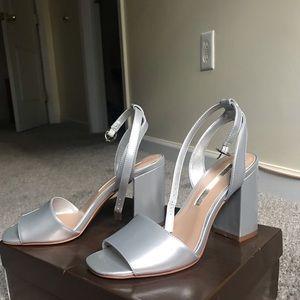 Audrey Brooke Silver shoes